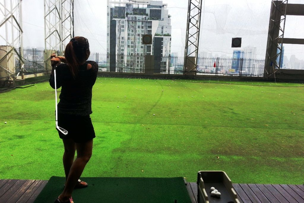 Image showing the Baiyoke Sky Hotel Driving Range