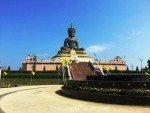 Black Buddha Phetchabura Buddha Park front left view