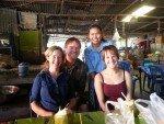 Thai Group Tours at the Thai restaurant opposite Buddha Mountain Pattaya Thailand
