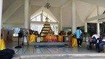 A closer view of the shrine at Buddha Mountain Pattaya Thailand