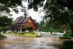 Isan Region Thailand extremely clean temple