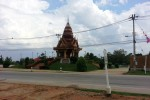 Lom Sak City Pillar Shrine Phetchabun view from across the road