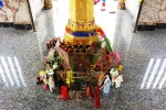 Lom Sak City Pillar Shrine Phetchabun base of pillar