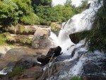 Mae Klang Waterfall Base of Main Fall