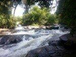 Mae Klang Waterfall Mini falls above main fall