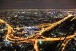 Night view from Baiyoke Sky Tower