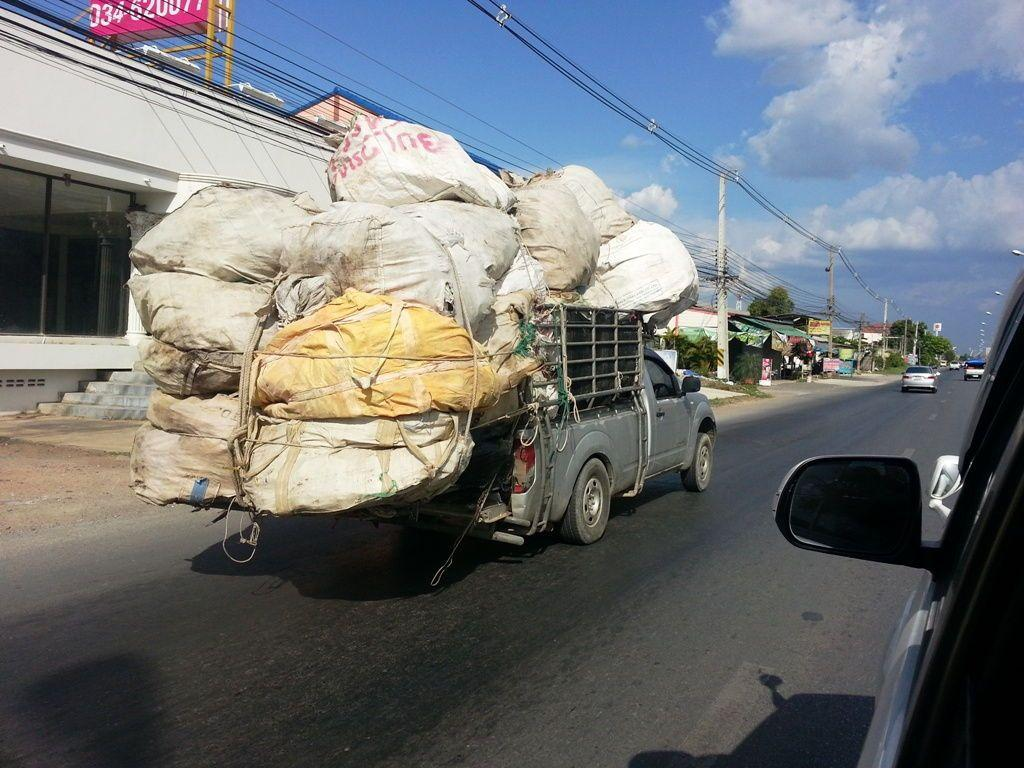 Overloaded Pickup Bags