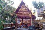 Phetchabun City pillar Shrine.Outdoor shrine for prayer or rike