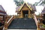 Phetchabun City pillar Shrine.Showing steps to shrine.