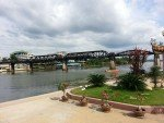 Part of our Thailand Anzac Tour The bridge on the River Kwai