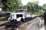 River Kwai Bridge with Thai Group Tours Improvised rail truck near River Kwai Bridge
