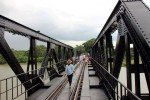 River Kwai Bridge with Thai Group Tours central span