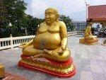 Big Buddha Pattaya Sitting Fat Buddha Statue