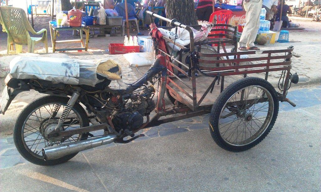 Slightly Modified Motorbike