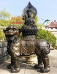 Statue at Viharnra Sien Eastern near Pattaya Eastern Thailand