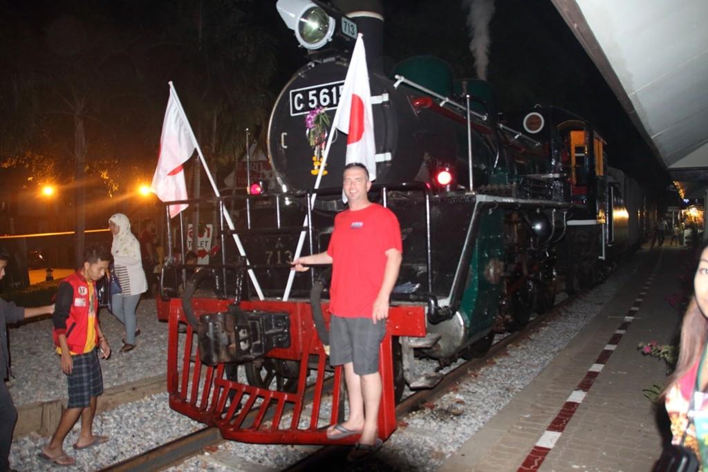 Vintage Steam Loco