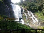 Wachirathan Waterfall main fall view point