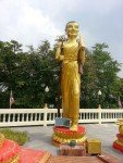 Walking Buddha statue Big Buddha Pattaya