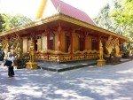 Corner view of the old Wat Tub Berk Phetchabun Northern Thailand