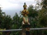 """Described to me as a """"Thai Angel"""" kneeling outside Wat Tub Berk"""