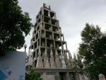 Wat Tub Berk. Watching the new temple grow. Approximately half built.